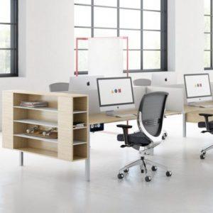 Open plan desk